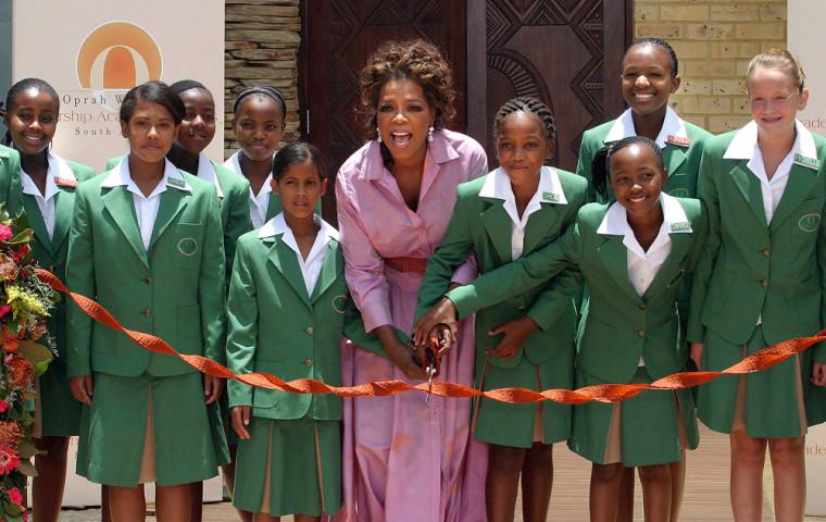 US television talkshow queen Oprah Winfr