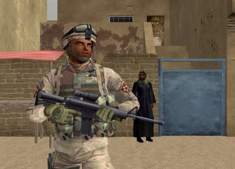 Researchers are studying whether a video-game version of Iraq can help returning veterans cope better with post-tramautic stress disorder. The initial results are encouraging, says Albert Rizzo of the University of Southern California's Institute for Creative Technologies.