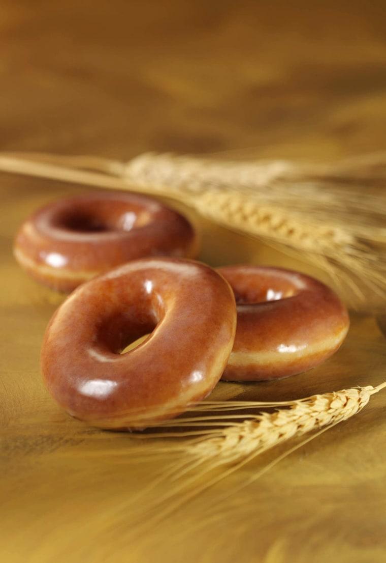 KRISPY KREME WHOLE WHEAT DOUGHNUTS