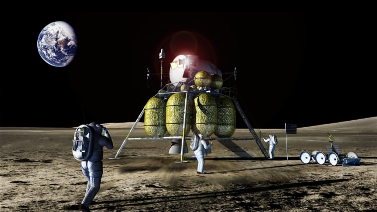NASA's Orion moon ship, shown in an artist's rendering, will be delayed until early 2015 due to budget constraints. The craft was originally scheduled to fly in 2014.