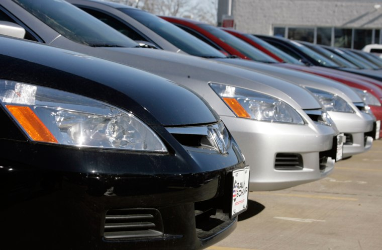 2007 Honda Accord sedans