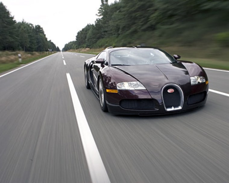 Only 50 Bugatti Veyrons are built per year, and the super-luxury car has a sticker price of $1.4 million.
