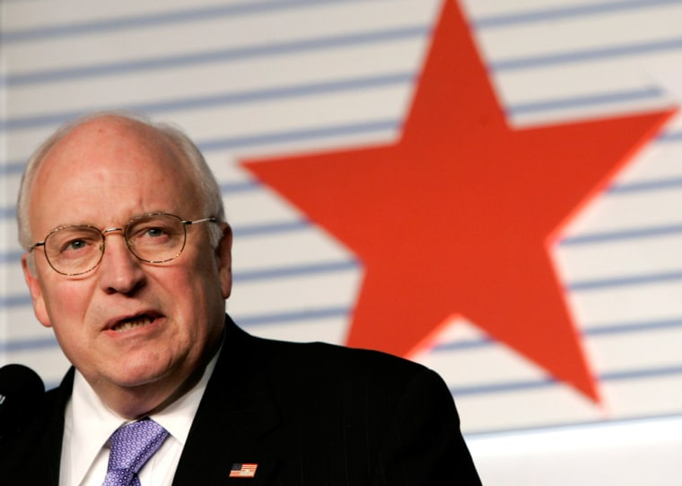 US Vice President Cheney delivers remarks at the 34th Annual Conservative Political Action Conference in Washington