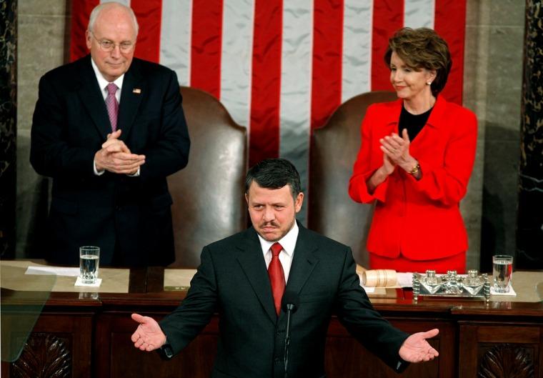 King Abdullah Of Jordan Addresses Joint Session Of Congress