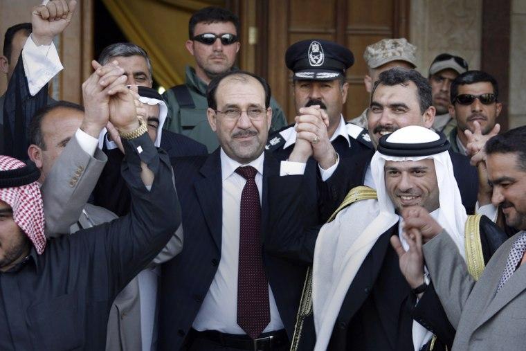 Iraq's al-Anbar province tribes' leaders