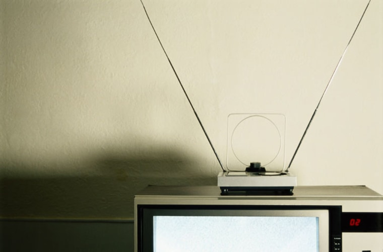 """""""Rabbit ears"""" won'tbe very usefulonce the U.S. makesthe complete switch-over to digital TV, inless than two years."""