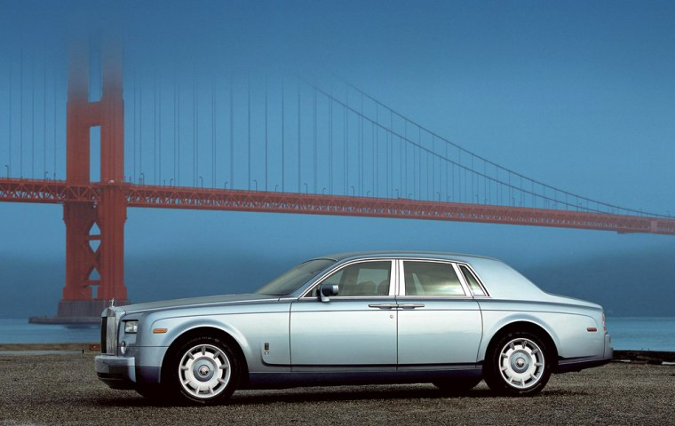 The proud, eccentric 2007 Rolls-Royce Phantom is number four.