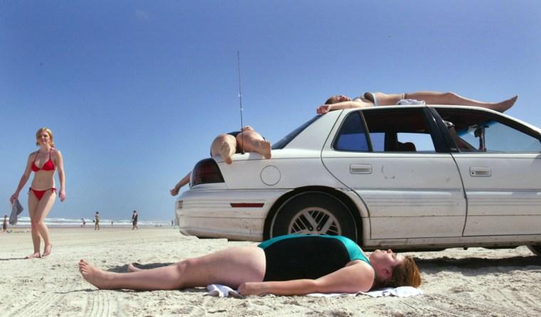 Spring Break Winds Down In Daytona Beach, Florida