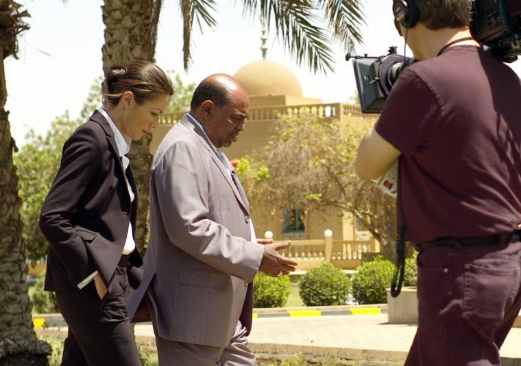 NBC's Ann Curry interviews Sudan President Omar al-Bashir.