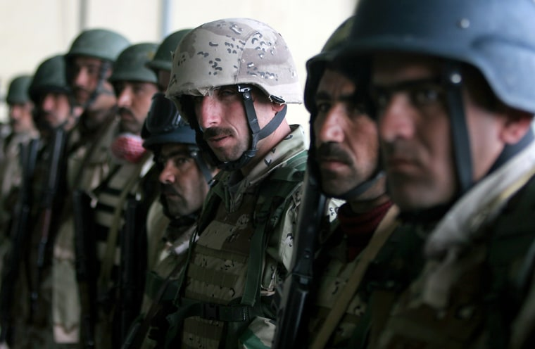 Iraqi soldiers, seen in Baghdad, are plagued by supply, maintenance andtransport problems.
