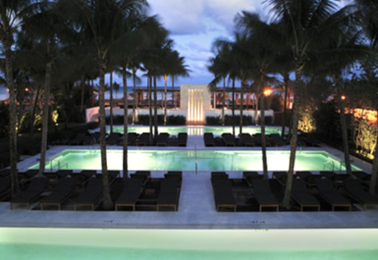 The Setai, Miami: After a $200 million renovation, the former Dempsey Vanderbilt Hotel in South Beach inspires uniformly rave reviews from the hospitality design profession.
