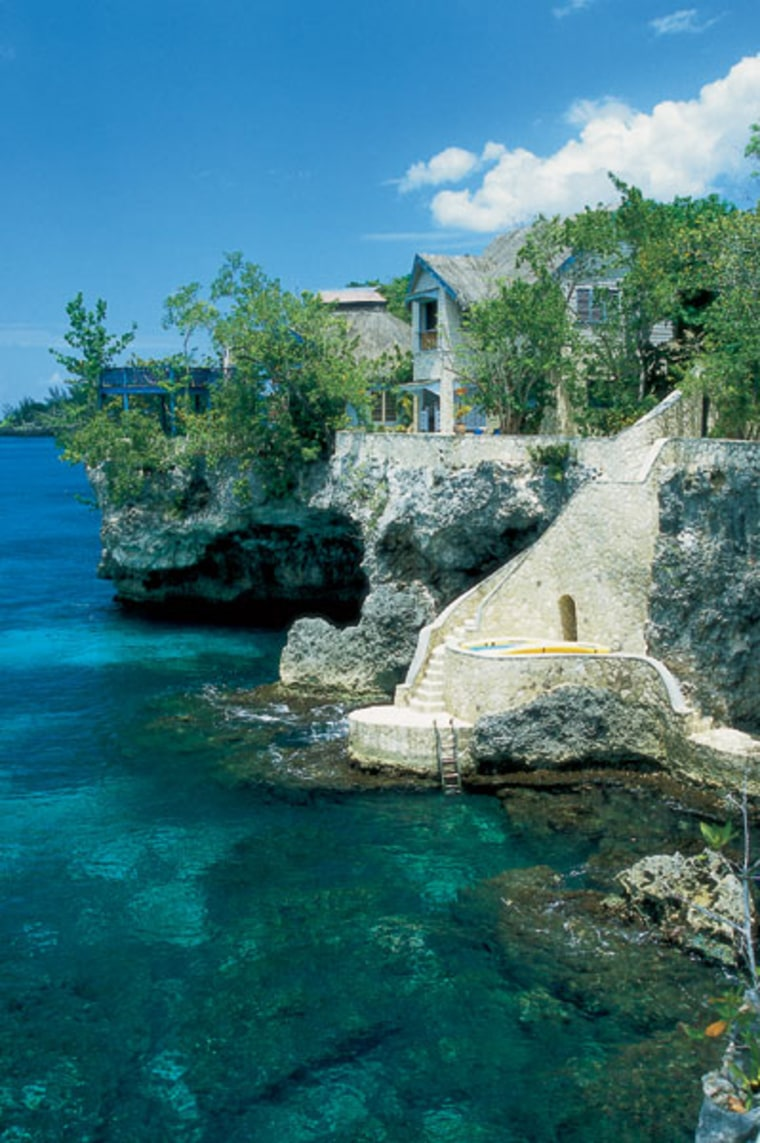 The Caves, in Negril, Jamaica is undeniably one of the Caribbean's sexiest retreats, with a clifftop Jacuzzi, private dining in a candlelit grotto, an Aveda mini-spa and hot A-list guests.