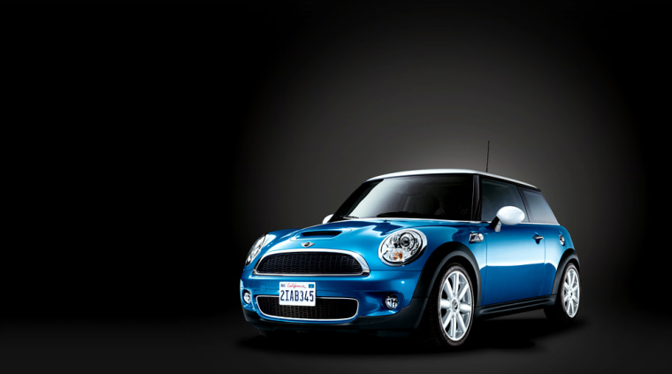 The new Mini Cooper is still cute enough to make 'Hello Kitty' look scarily sinister by comparison.