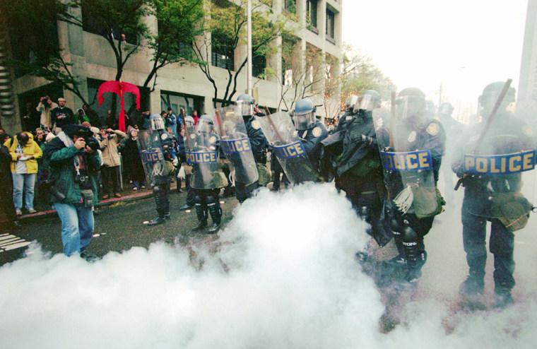 WORLD TRADE PROTEST
