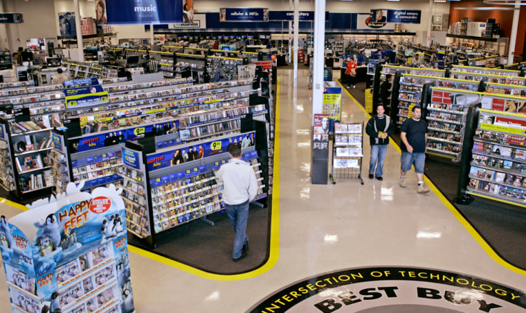 Some customers say the layout of Best Buy stores is easier to understand than Circuit City.