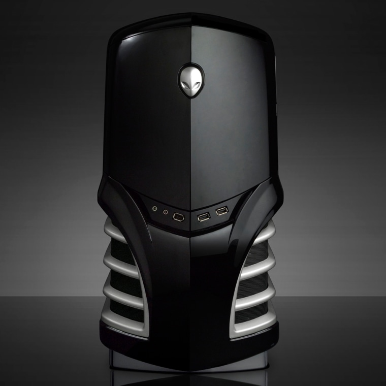 Alienware's 'Area 51' game-oriented machines feature a 1-terabyte hard drive.