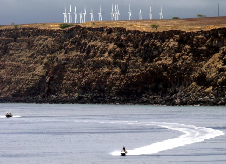 The Pakini Nui wind farm already provides renewable energy in South Point, Hawaii.