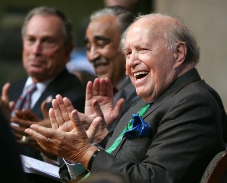 Michael Bloomberg, Charles Rangel, John Werner Kluge