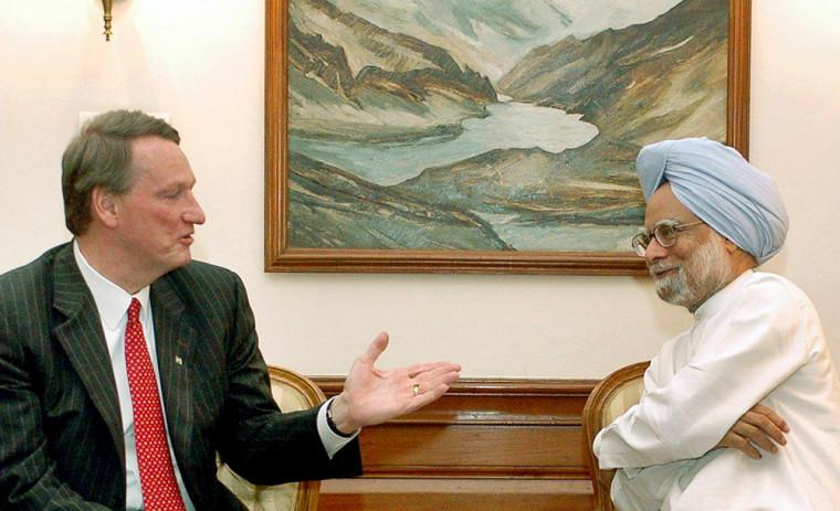 Rick Wagoner, Manmohan Singh