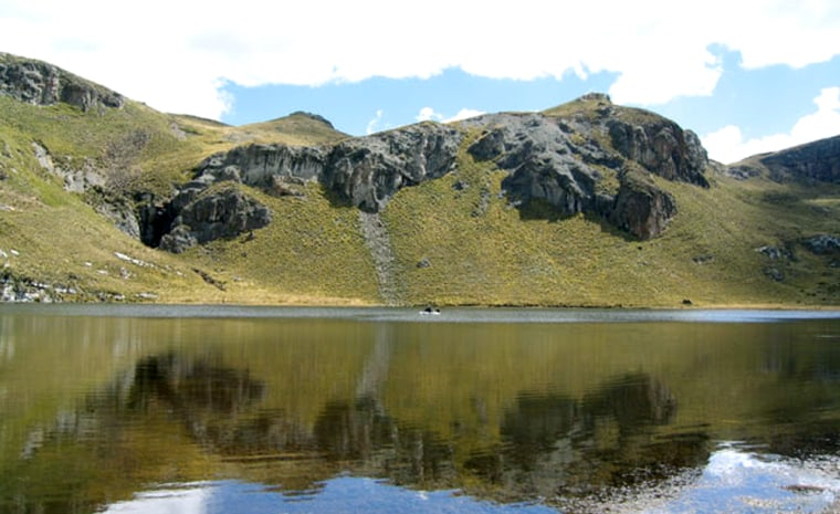 By analzying metals in lake mud in the central Peruvian Andes, scientists have revealed the first evidence for pre-Colonial metallurgy there.