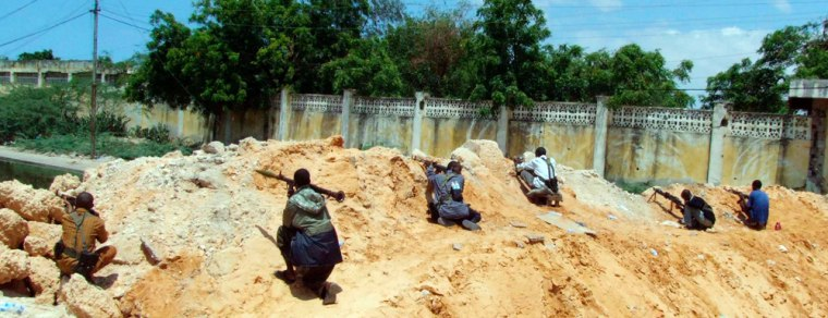 Fighting in Mogadishu