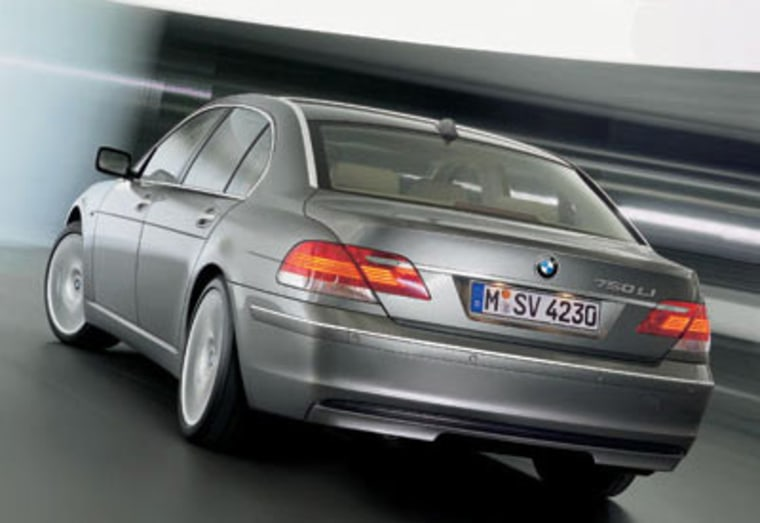 The BMW 7 Series long-wheelbase sedan was ranked second on the list.