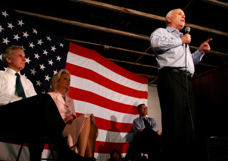 John McCain, Henry McMaster, Cindy McCain, Lindsey Graham