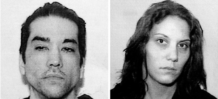 John Westover and Jessica Botzko are whown in police booking photos.