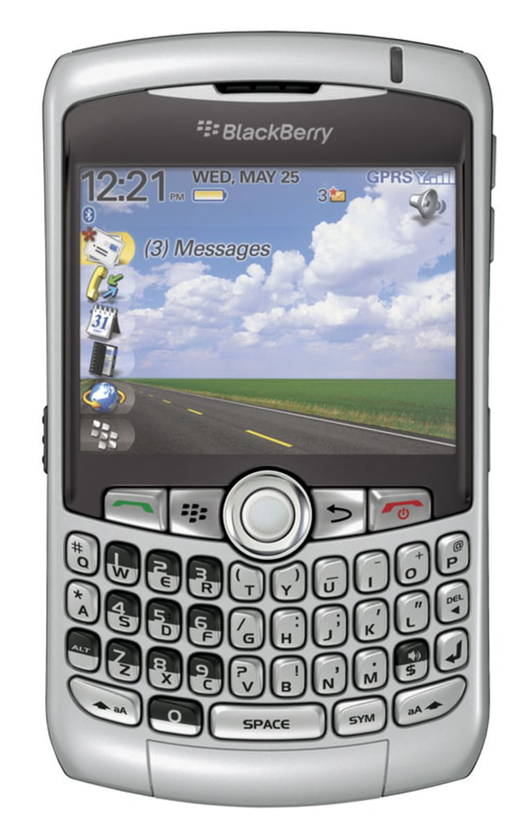 The new Blackberry Curve features a new, smaller, feature-laden QWERTY keyboard design.