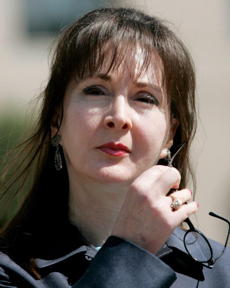 Deborah Jeane Palfrey, alleged Washington prostitution ring leader, attends Federal Court