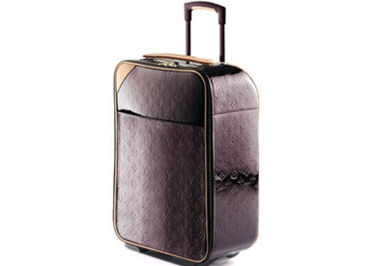 The Louis Vuitton Vernis Pegasse 50 is perfect for uber-luxe getaways, and sells for $2,130.