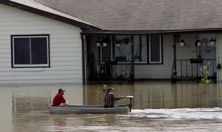 Flooding in Missouri and Kansas is causing evacuations in many small rural towns