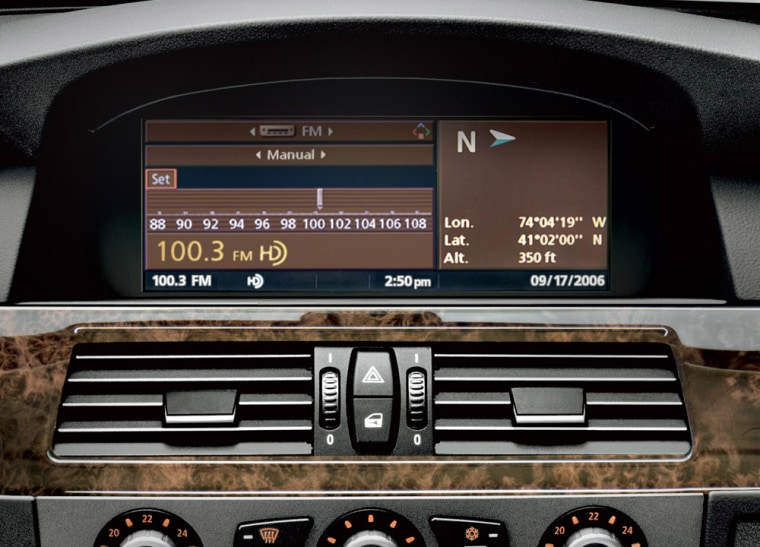 BMW has been an early adopter of HD Radio and currently offers an option for the technology on all of its 2007 models.