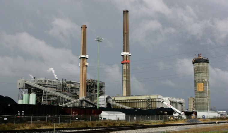 Coal-fired power plants like this onein York Haven, Pa., are responsible for half of all mercury emissions into the air.