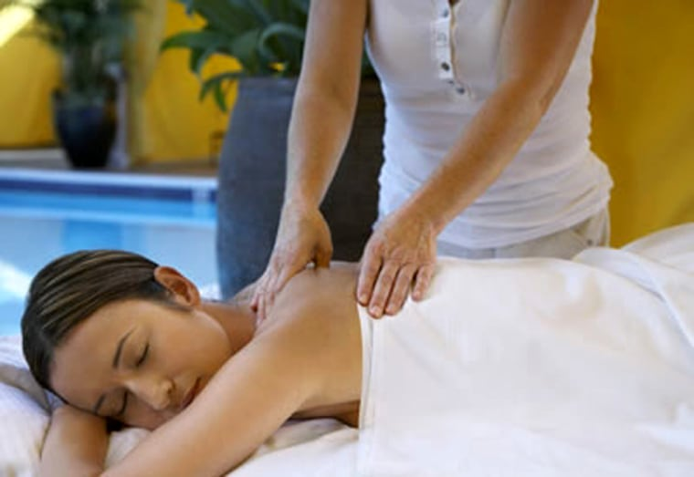 Get a massage at the newly opened , in Newport Beach, Calif.