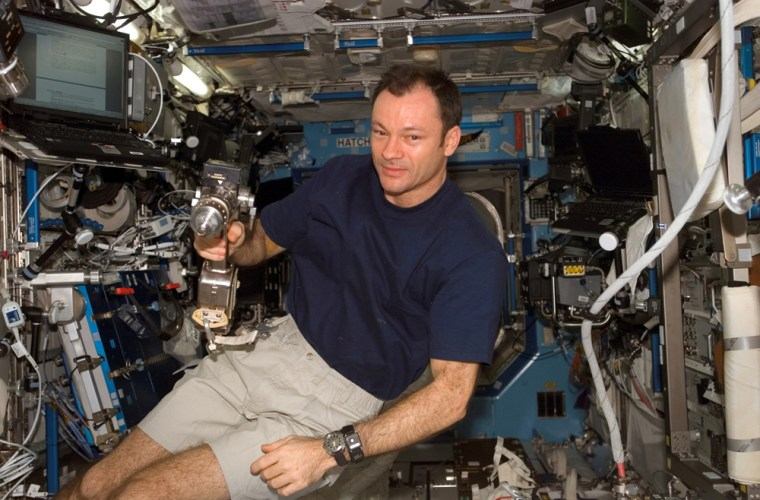 Michael E. Lopez-Alegria, Expedition 14 commander and NASA space station science officer is adjusting to life back on Earth.