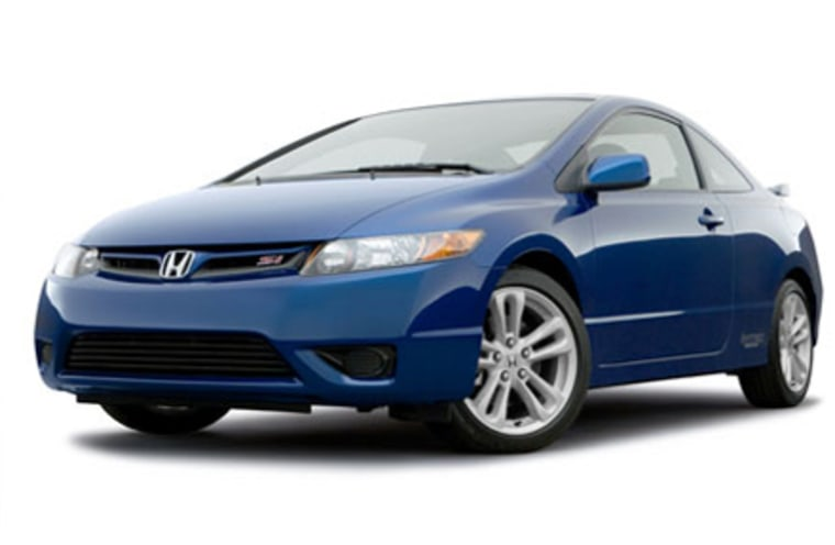 Cars like Honda's Civic Siare popular with younger drivers and also have electronic stability control, which the NHTSA says saves thousands of lives a year.