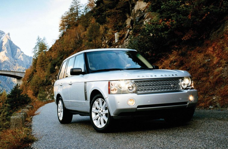 The Range Rover isn't all show. Properly equipped,this British SUV can tow 7,716 pounds with loads of room for cargo inside.