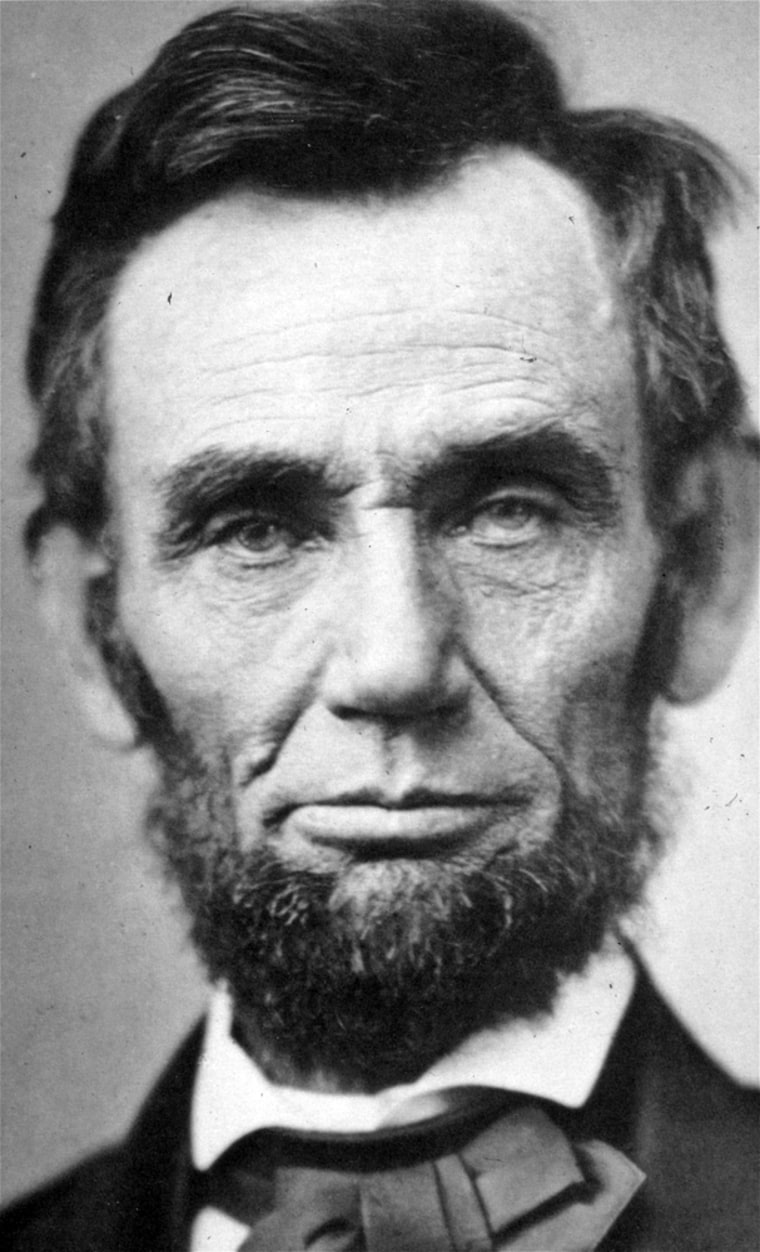 Abraham Lincoln is shown in this Nov. 8, 1863 file photo made available by the New York Public Library.