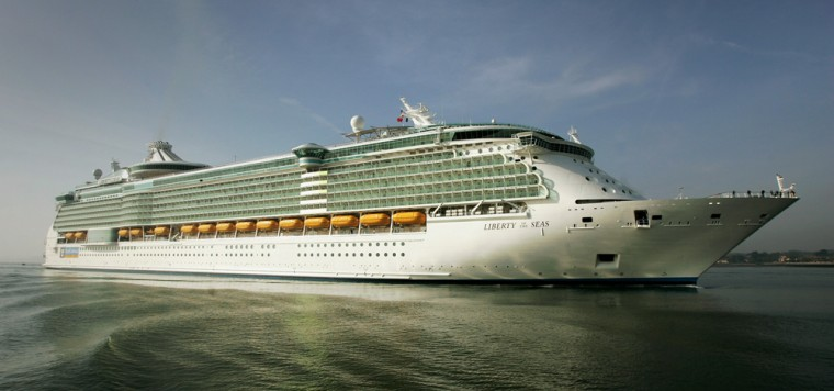 Worlds Largest Cruise Ship Docks In Southampton