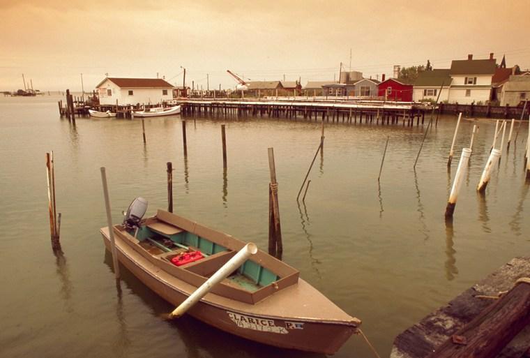 Fishing Boat on Tangier Island