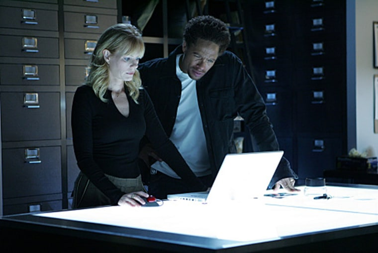 On 'CSI,' everyone's a whiz with technology. Guess you've gotta be if you have to solve crimes in under an hour.