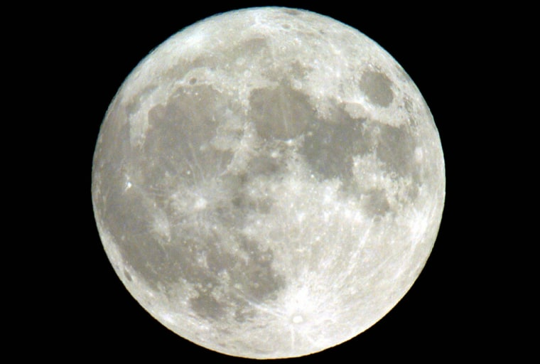 """The second full moon of the month, \""""Blue"""