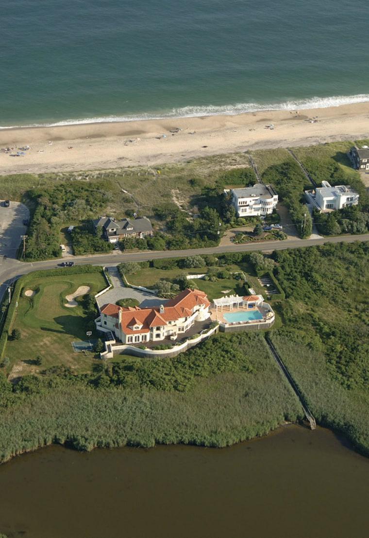 With a booming economy and record-setting highs nearly every day on Wall Street, the real estate trade in the Hamptons couldn't be better. And money appears to be no obstacle.