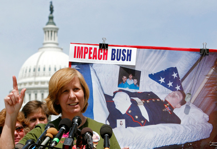 Capitol Rally Calls For Impeachment Of Bush And Cheney