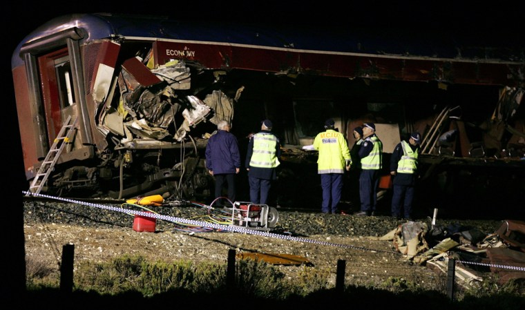 Death Toll Mounts From Train Crash In Rural Victoria