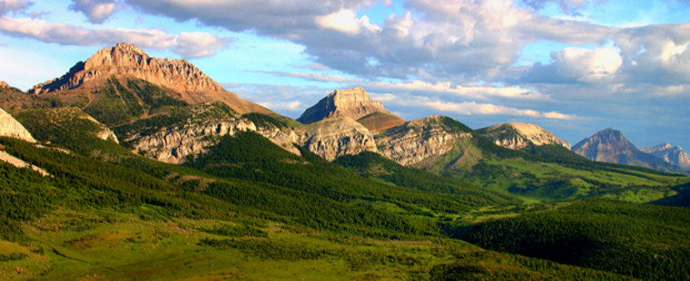 This photo taken in 2005 and provided by the Montana Wilderness Association shows the Blackleaf area of the Rocky Mountain Front south of Glacier National Park, in Montana. The U.S. Senate authorized a permanent ban on petroleum and mineral exploration along the Front in Montana on Saturday, Dec. 9, 2006.  The measure now goes to President Bush. (AP Photo/Montana Wilderness Association, Jeff Van Tine)