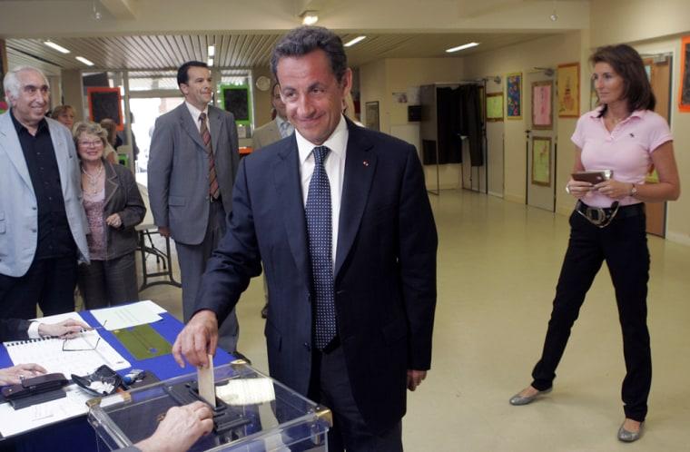 Nicolas Sarkozy, Cecilia Sarkozy