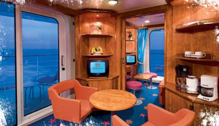 On Norwegian Jewel, Norwegian Gem, and NCL America's Pride of America and Pride of Hawaii, ship designers have created 30 to 33 stateroom categories — including several suites and junior suites that can interconnect with other staterooms to create configurations suitable for families small and large.