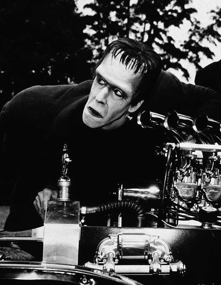 Fred Gwynne And Al Lewis In 'The Munsters'